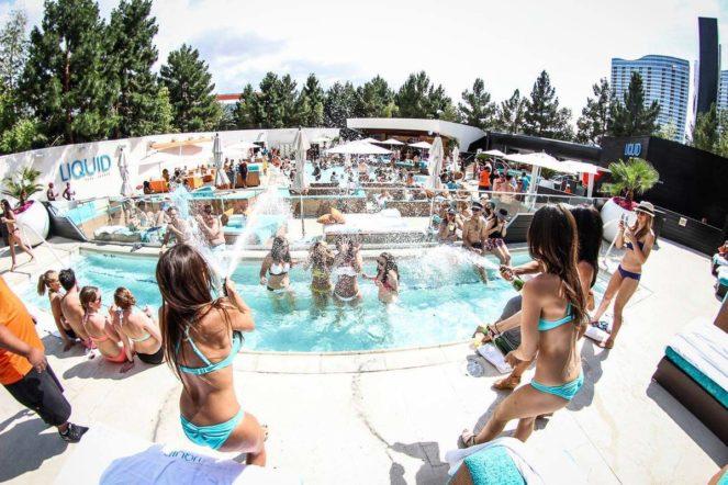 Liquid Pool Lounge Aria Guestlist Las Vegas